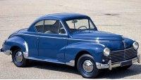 Пежо 203, 1950 год, купе