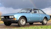 Пежо 504, 1975 год, купе